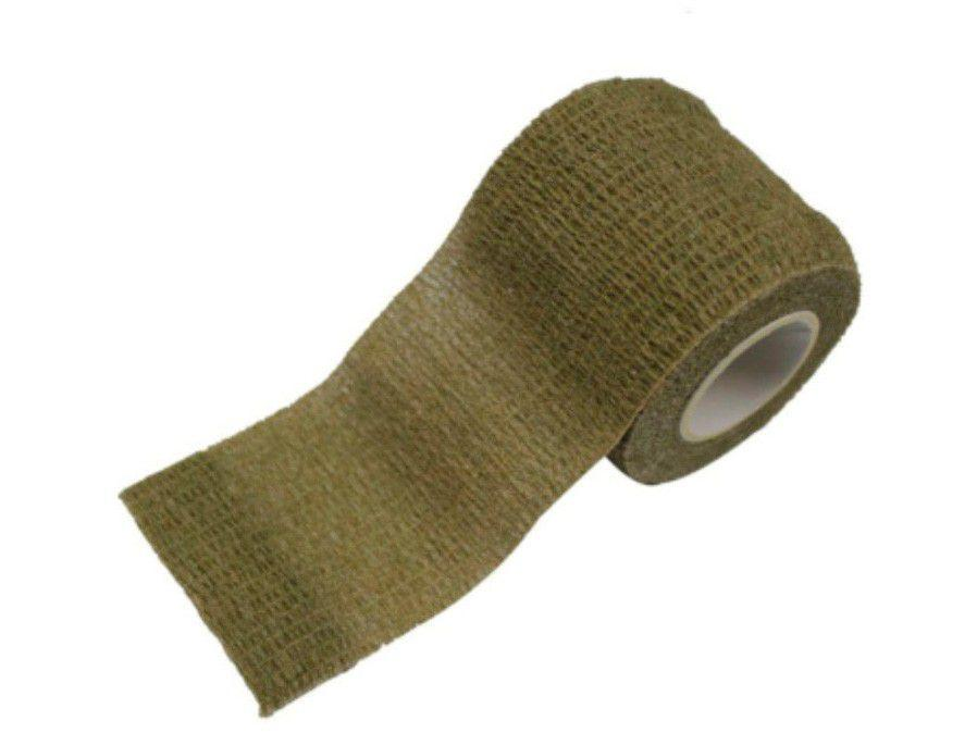 Fita Camo Tape Reutilizável Verde Oliva - Nautika Tático