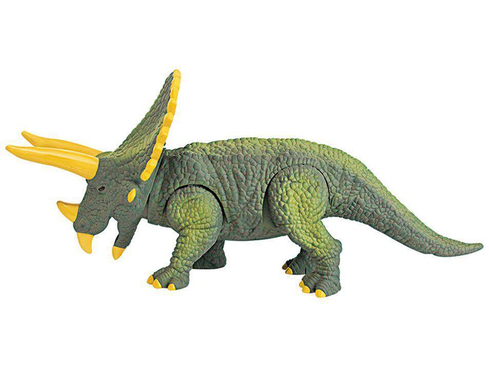 Dinossauro Feras Selvagens - Triceraptos Emite Som e Luz Candide