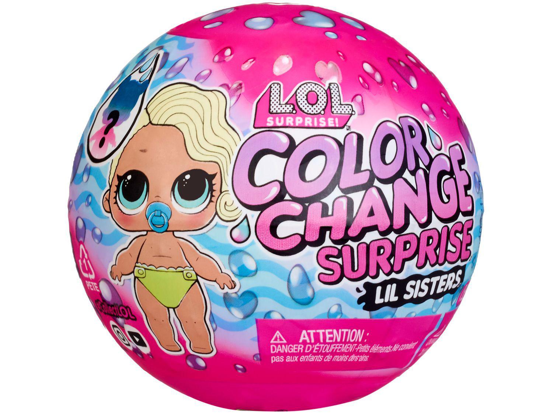 Boneca LOL Surprise Color Change com Acessórios - Candide