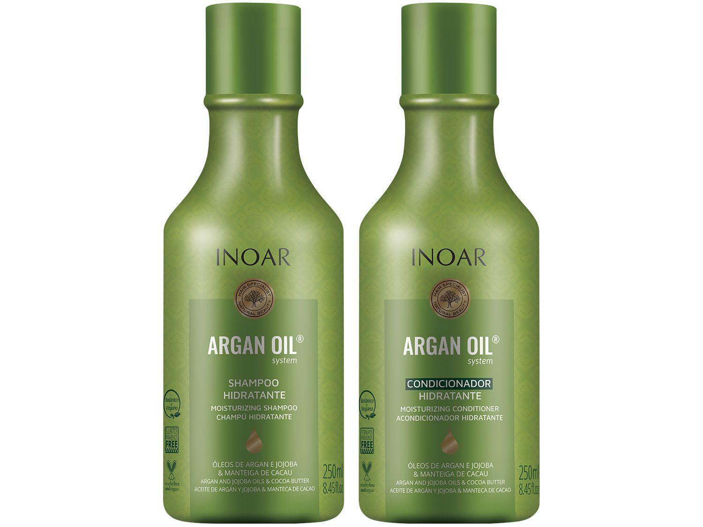 Shampoo e Condicionador Inoar Argan Oil 250ml Cada