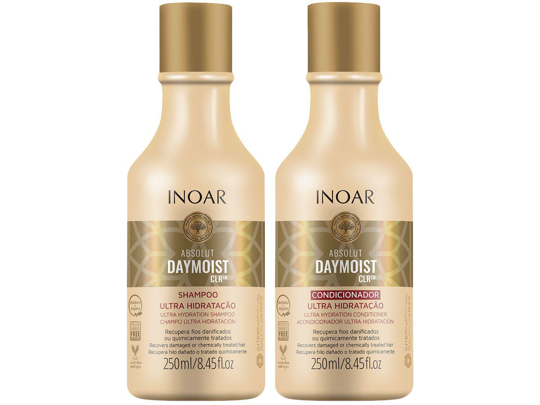 Shampoo e Condicionador Inoar Absolut Daymoist CLR - 250ml Cada
