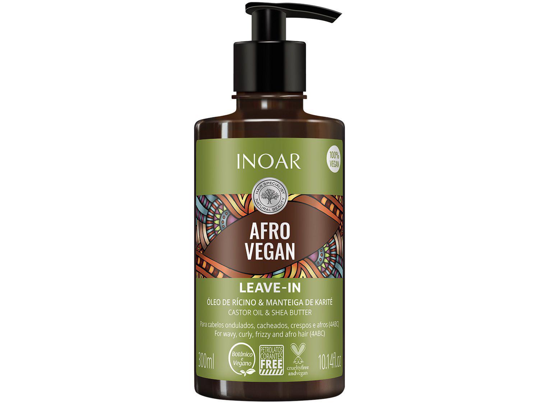 Leave-in Inoar Afro Vegan 300ml