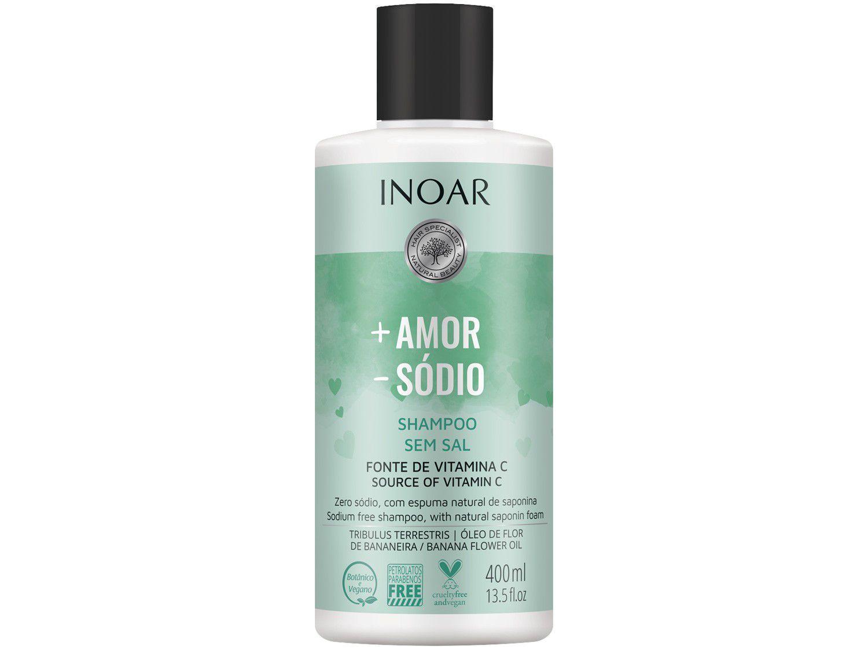 Shampoo Inoar Mais Amor e Menos Sódio 400ml