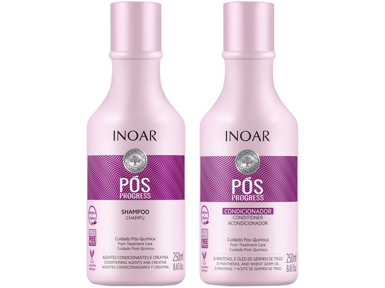 Shampoo e Condicionador Inoar Pós Progress 250ml