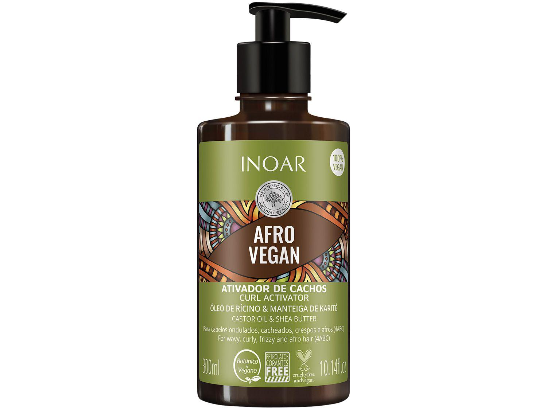Shampoo Inoar Afro Vegan 300ml