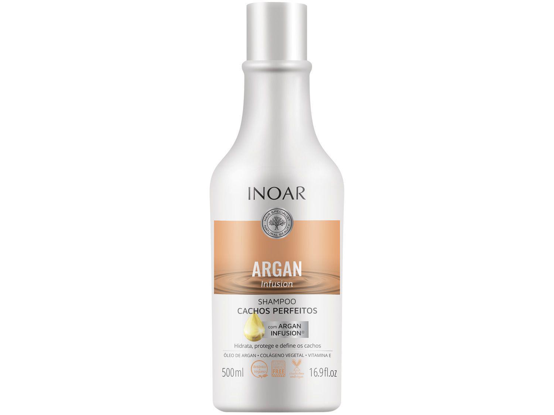 Shampoo Inoar Argan Infusion achos Perfeitos 500ml