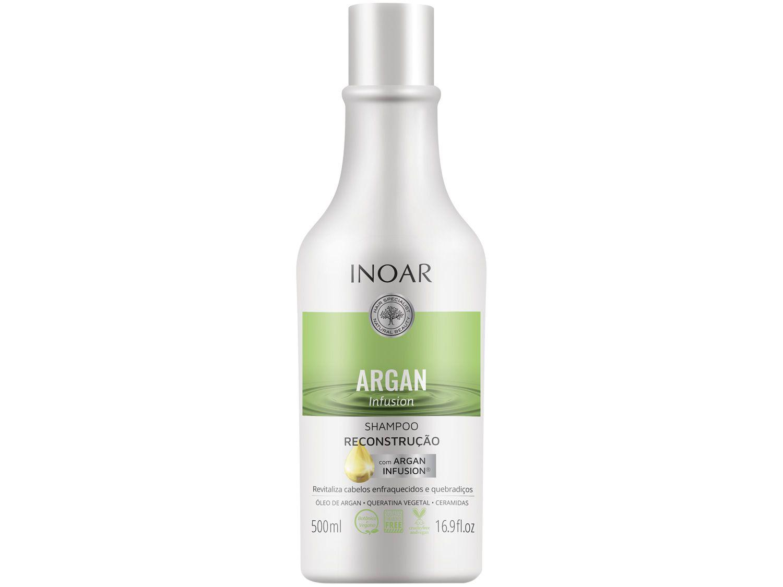 Shampoo Inoar Argan Infusion Reconstrução 500ml
