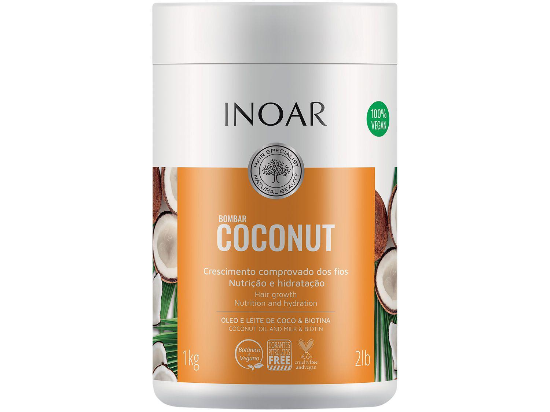 Máscara de Nutrição Inoar Bombar Coconut 1kg
