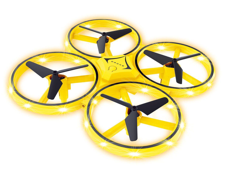 Drone Infantil de Controle Remoto Polibrinq - Hand Sensor Quadricoptero