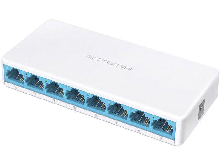 Switch 8 Portas Mercusys MS108 10/100Mbps