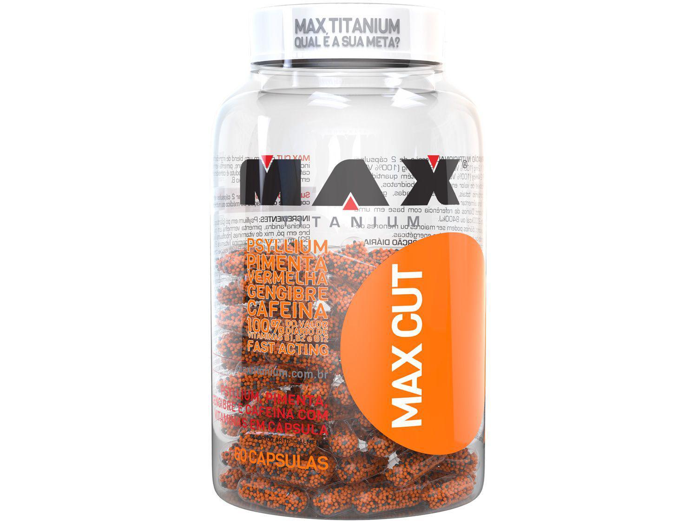Termogênico Max Titanium Max Cut em Cápsulas - 60 Cápsulas sem Sabor