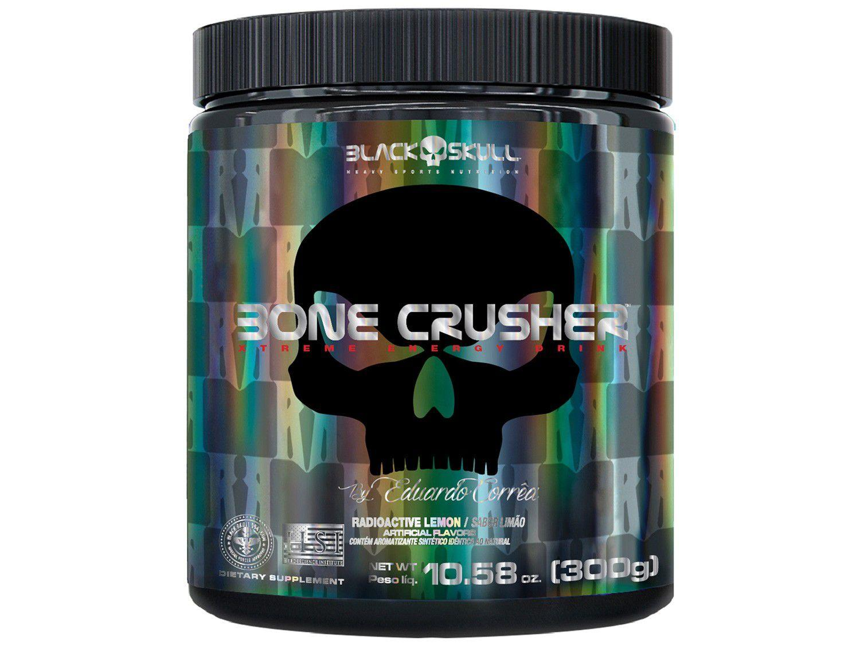 Pré Treino Black Skull Bone Crusher em Pó 300g - Lemon Radioactive