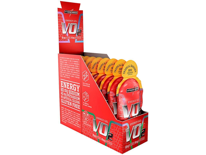 Pré Treino Integralmédica Energy VO2 Gel Banana - Natural 10 Unidades