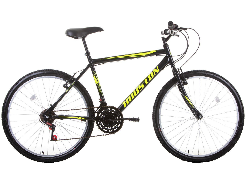 Bicicleta Aro 26 Houston Foxer Hammer Aço - Freio V-Brake 21 Marchas