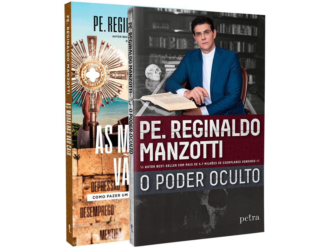 Kit Livros O Poder Oculto As Muralhas Vão Cair - Pe. Reginaldo Manzotti com Brinde