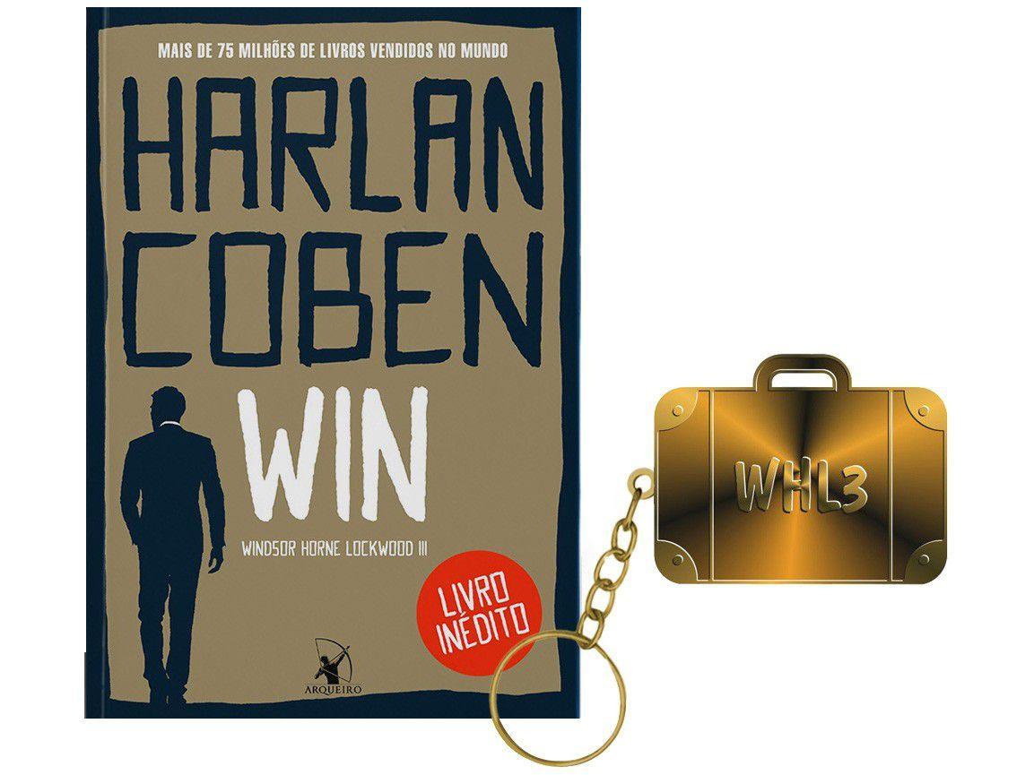 Livro Win Harlan Coben com Brinde Pré-venda