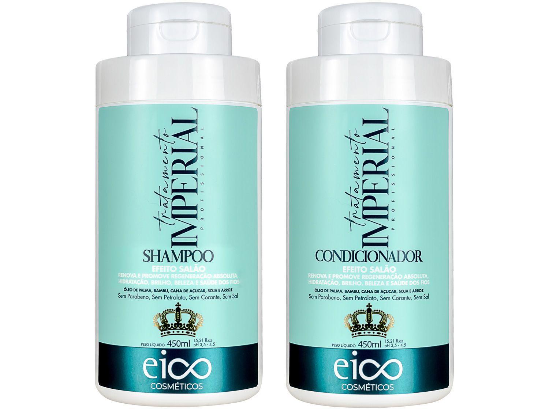 Shampoo e Condicionador Tratamento Imperial - Eico 450ml Cada