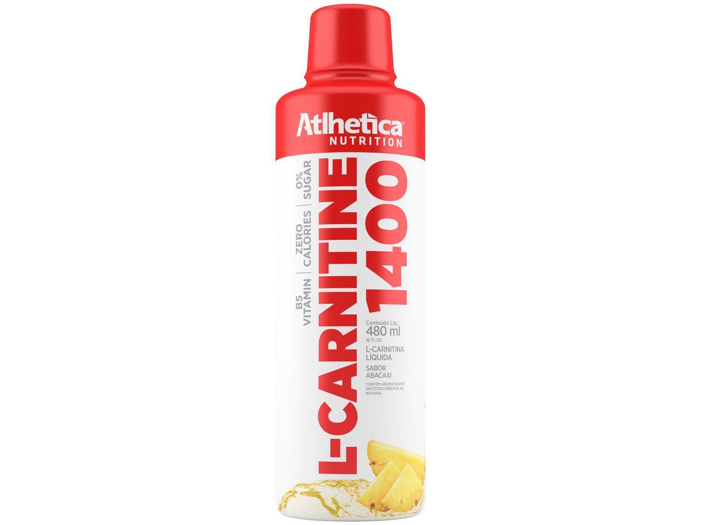 L-Carnitina Atlhetica Nutrition L-Carnitine 1400 - Líquido 480ml Abacaxi