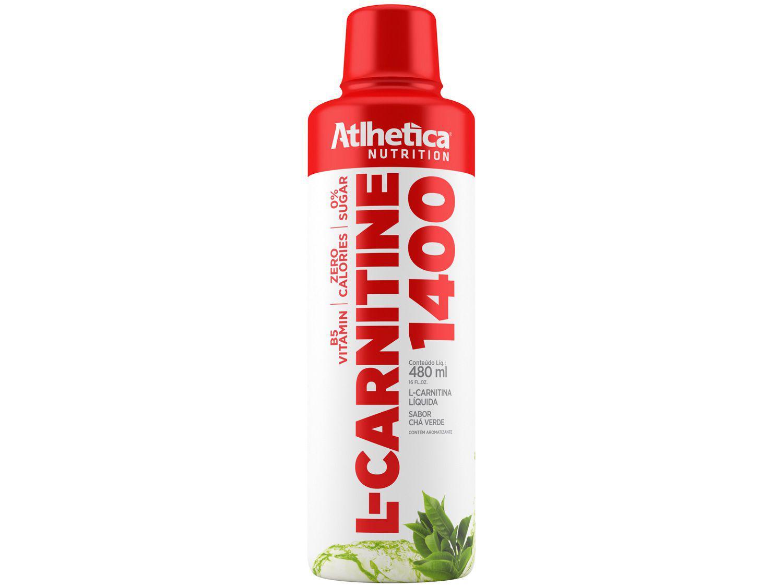L-Carnitina Atlhetica Nutrition L-Carnitine 1400 - em Cápsulas 480ml Sem sabor Diet