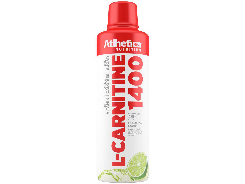 L-Carnitina Atlhetica Nutrition L-Carnitine 1400 - Líquido 480ml Limão