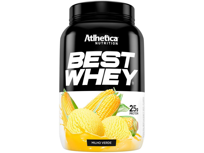 Whey Protein Concentrado Hidrolisado Isolado - Atlhetica Nutrition Best Whey 900g Milho Verde