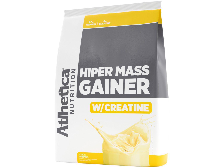 Hipercalórico Atlhetica Nutrition Hiper Mass - Gainer em Pó 3kg Banana