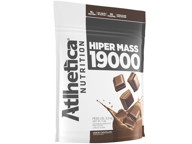 Hipercalórico Atlhetica Nutrition Hiper Mass 19000 - em Pó 3,2kg Chocolate