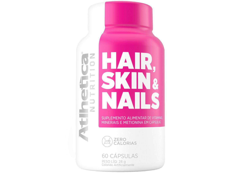 Multivitamínico Atlhetica Nutrition - Hair Skin Nails 60 Cápsulas