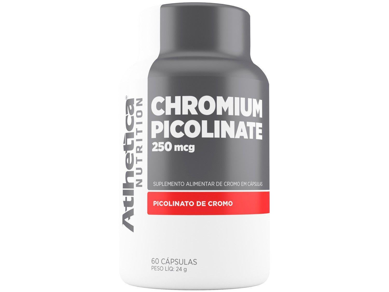 Picolinato de Cromo Atlhetica Nutrition - em Cápsulas 60 Cápsulas Natural