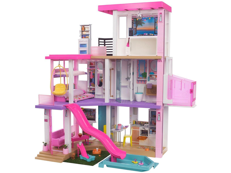 Casa da Barbie Mega Casa dos Sonhos - 109cm com Acessórios Mattel