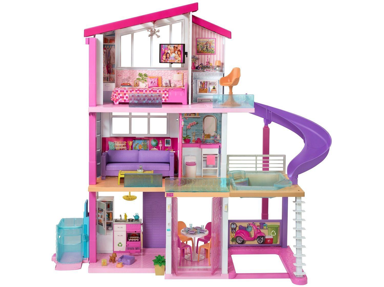 Casa da Barbie Mega Casa dos Sonhos - 125cm com Acessórios Mattel