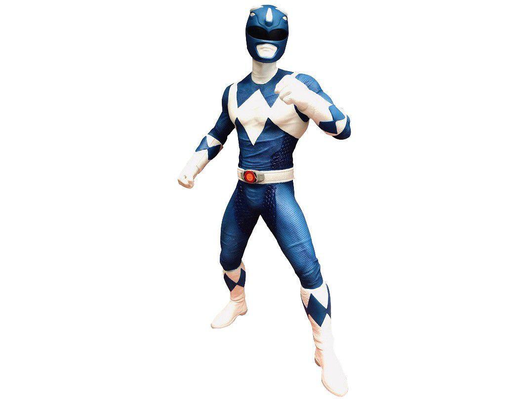Boneco Power Rangers Ranger Azul Mimo Toys