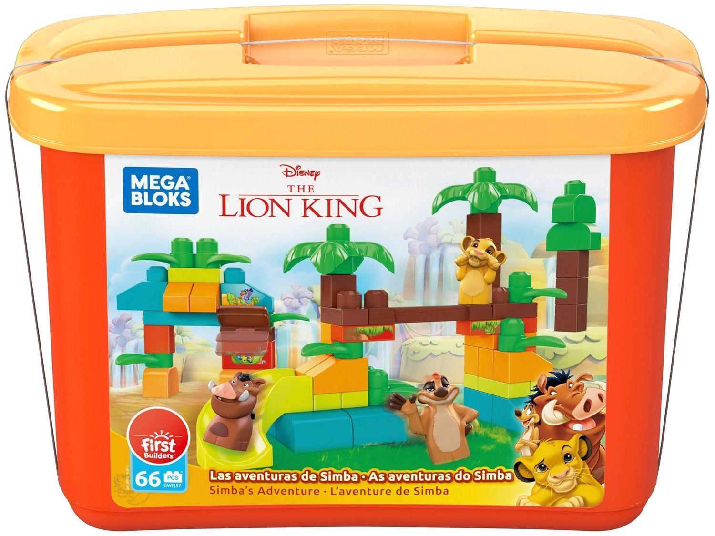 Blocos de Montar O Rei Leão GWN57 Mega Bloks - 69 Peças