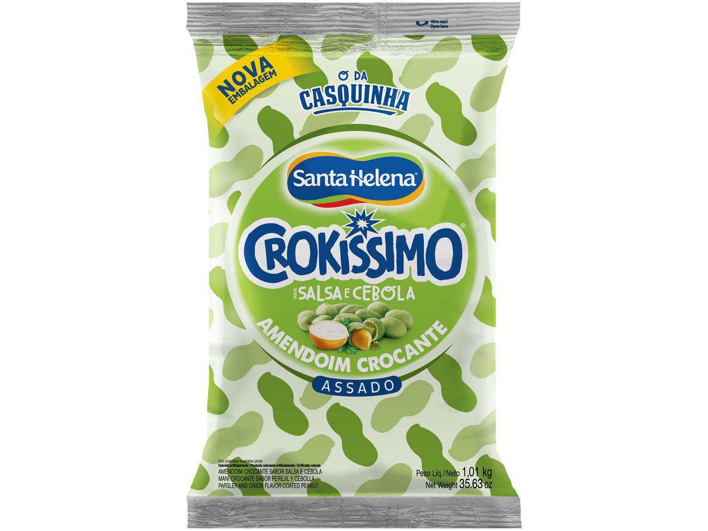 Amendoim Salgado sem Pele Crokíssimo - Salsa e Cebola 1,01kg