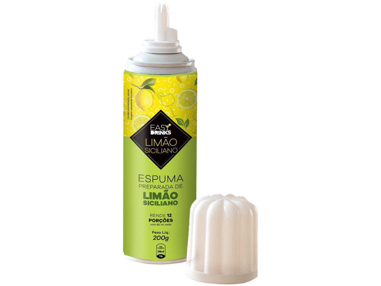Espuma para Drink Easy Drinks Limão Siciliano - 200g