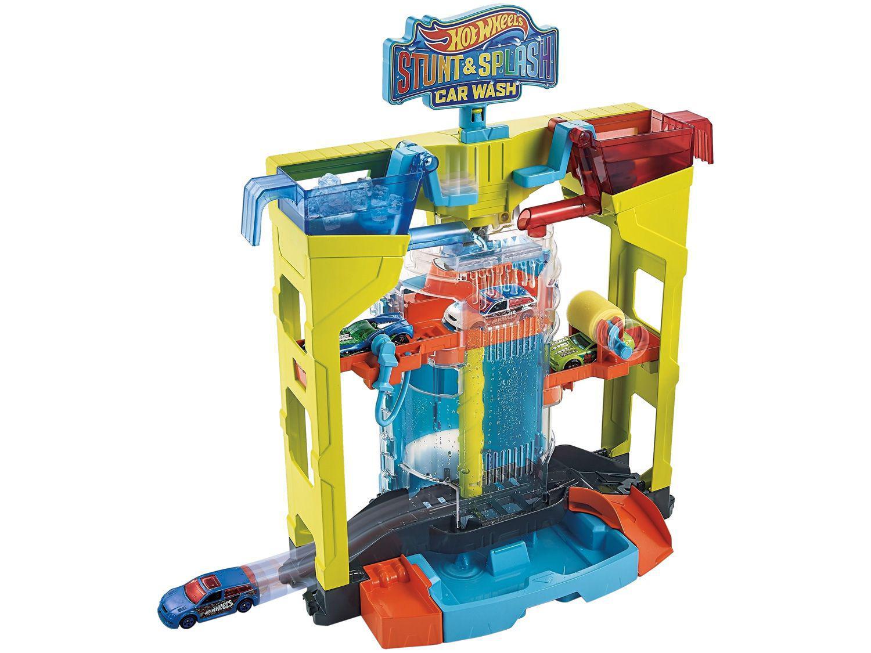Lava-rápido de Brinquedo Hot Wheels Acrobacias - Mattel