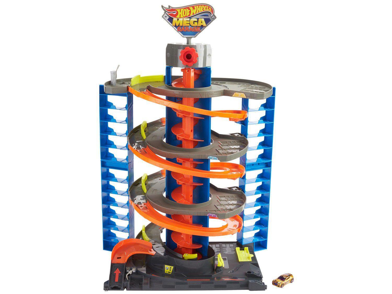Garagem Hot Wheels City Mega Garagem - Mattel