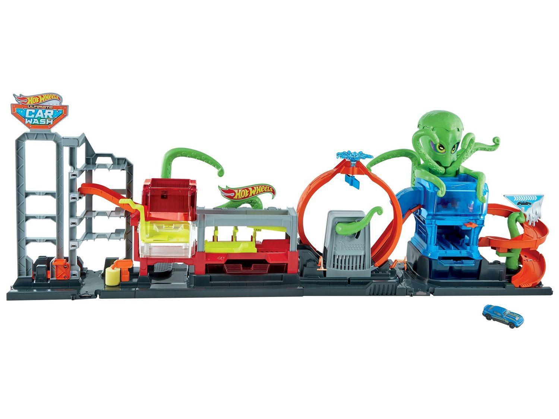 Lava-rápido de Brinquedo Hot Wheels - Ataque Extremo Mattel