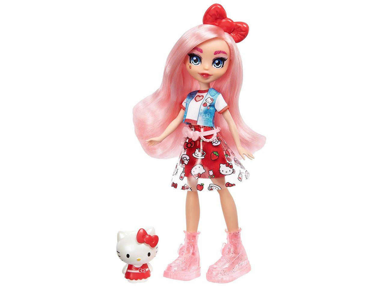 Boneca Hello Kitty Sanrio com Acessórios Mattel
