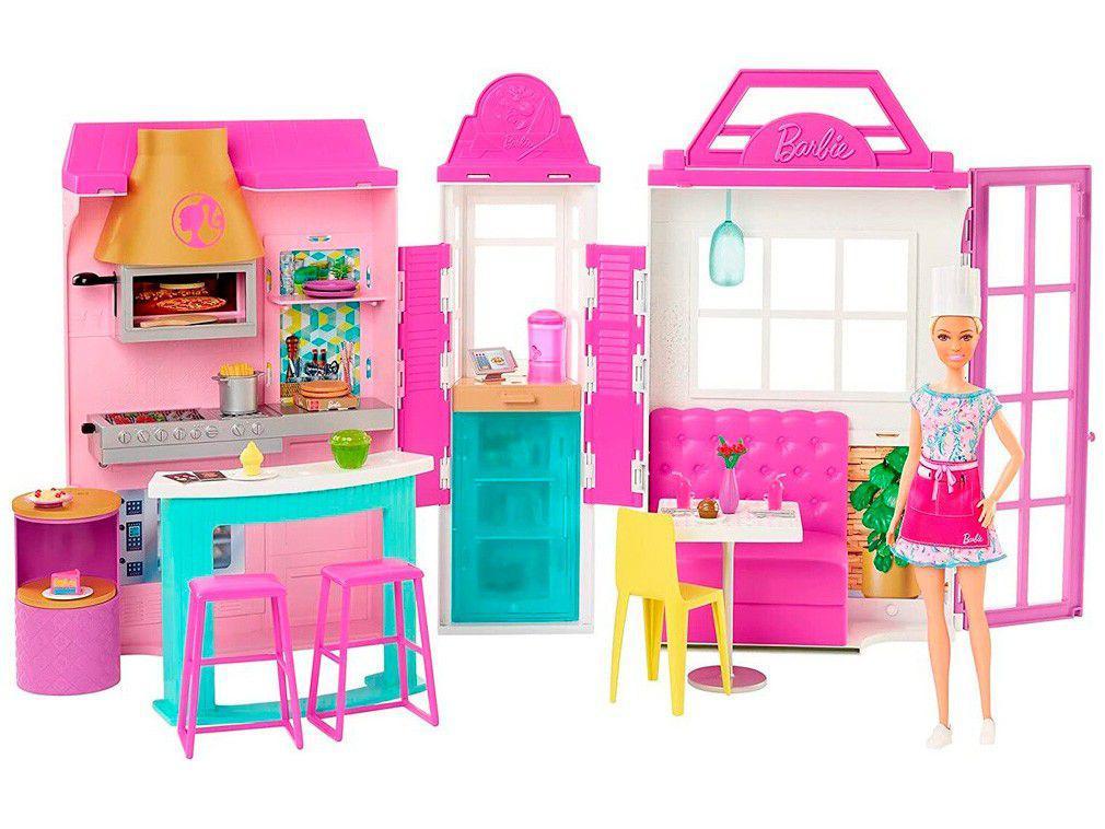 Playset Barbie Estate Restaurante Mattel