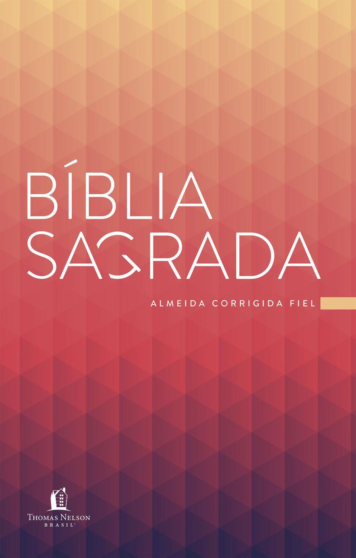 Livro - Bíblia ACF Prisma Coral, Brochura, Econômi