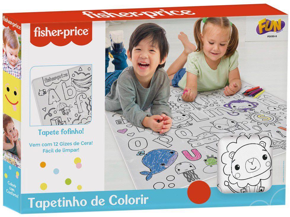 Tapete de Colorir Fun Art and Craft Fisher Price - 68x65cm