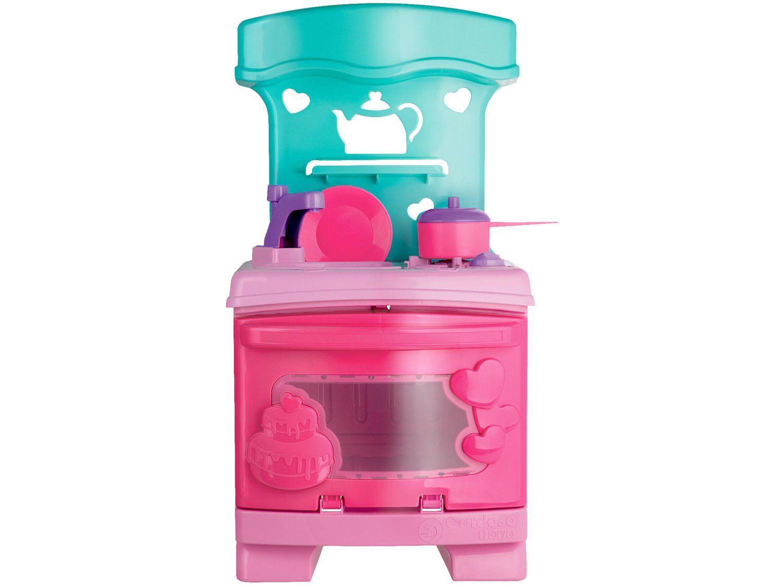 Cozinha Infantil Completa Sweet Fantasy - Cozinha Sonho de Menina Cardoso Toys