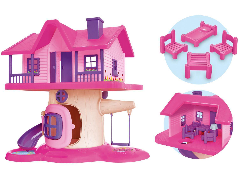 Casinha de Boneca Bella Casinha Bella Vila Casa - Usual Brinquedos