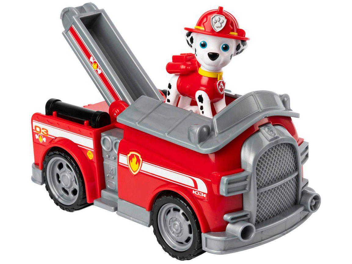 Carrinho Patrulha Canina Carro de Bombeiro - Sunny Brinquedos