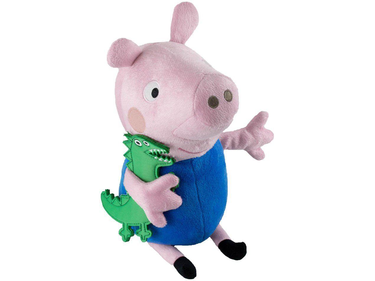 Pelúcia Peppa Pig George Sunny Brinquedos