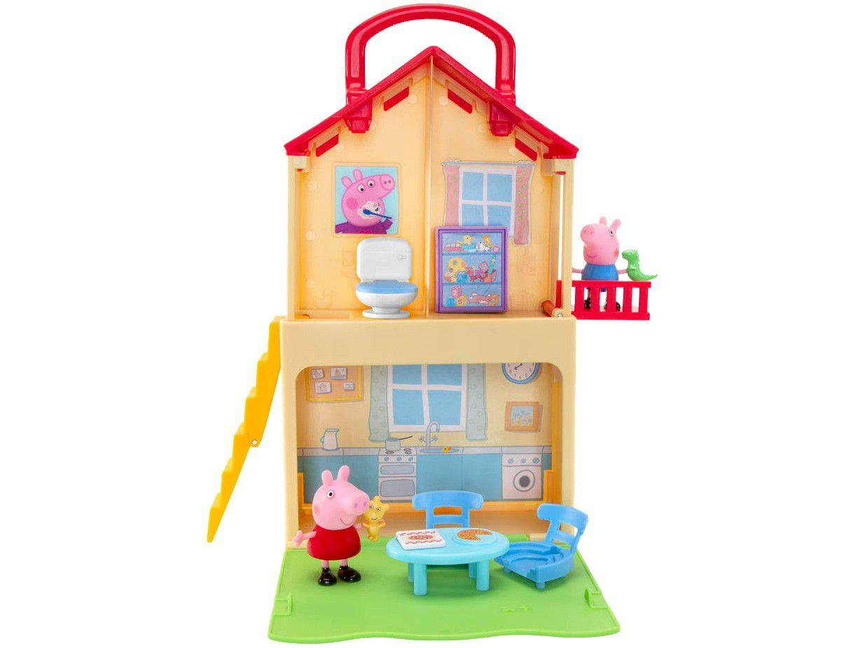 Playset Peppa Pig Casa Maletinha da Peppa - Sunny Brinquedos