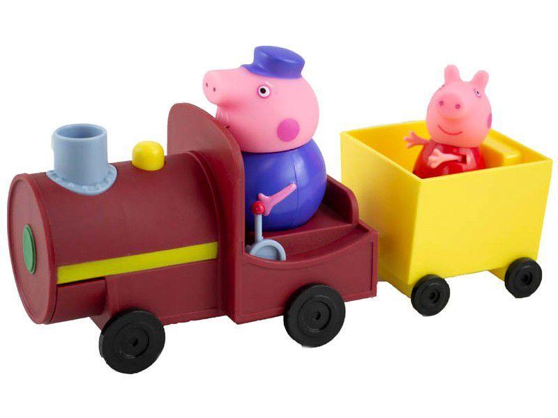 Boneco Peppa Pig Trêm do Vovô Pig 9,1cm - Sunny Brinquedos