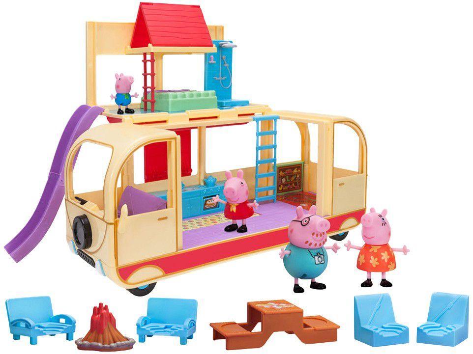 Playset Van de Acampamento Peppa Pig Jazwares - Sunny Brinquedos