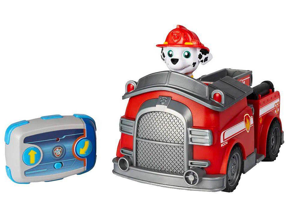 Carrinho de Controle Remoto Patrulha Canina - Marshall Sunny Brinquedos